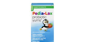Pedia-Lax Daily Digestive Probiotic Yums