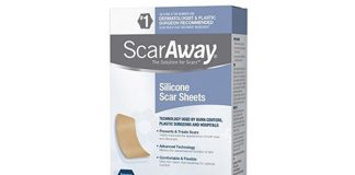 ScarAway Professional Grade Silicone Scar Treatment Sheets, 12-Count