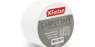 XFasten Double-Sided Carpet Tape