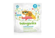 Babyganics Single-Use Teething Gel Pods, 10-Count