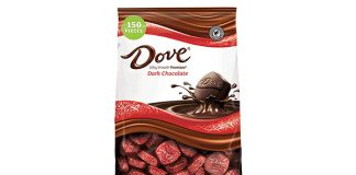 DOVE PROMISES Dark Chocolate Christmas Candy, 153-Piece Bag