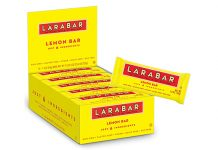 Larabar Gluten Free Bar, Lemon, Pack of 16