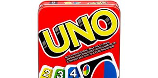 Mattel Games: The Official Uno Tin