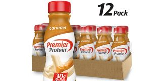 Premier Protein Shake, Caramel, 12-Count