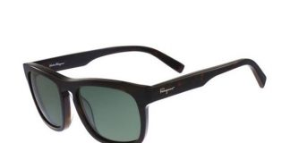 Salvatore Ferragamo Men's Polarized Sunglasses