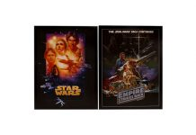 Star Wars Canvas Prints, 2-Count