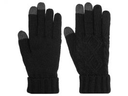 Women's Cable Knit Texting Gloves