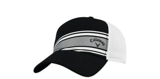 Callaway Stripe Mesh Adjustable Hat