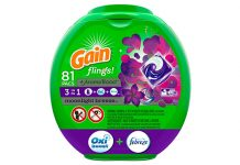 Gain flings! Laundry Detergent Pacs