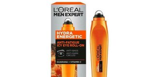 L'Oreal Men Anti-Fatigue Eye Roll-On, 2-Pack