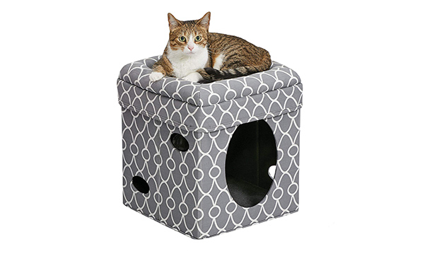 MidWest Curious Cat Cube, Cat House