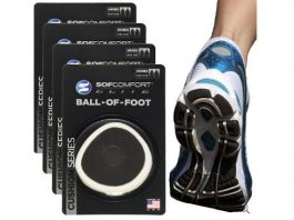 4 Pairs Sof Comfort Ball-Of-Foot Cushions – Forefoot Pain Relief