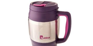 bubba Classic Insulated Travel Mug, 34 oz., Purple