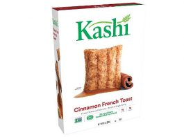 Kashi Cinnamon French Toast Breakfast Cereal - Non-GMO Project Verified, 10 Oz Box