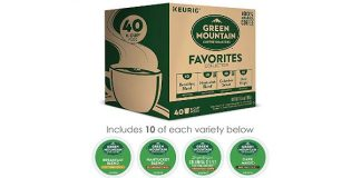 Green Mountain Coffee Roaster Coffee Roasters Favorites Collection, Single-Serve Coffee K-Cup Pods, Variety, 40 Count