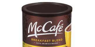 McCafe Breakfast Blend Ground Coffee (30 oz Canister)