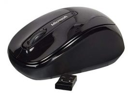 Microsoft® Wireless Mobile Mouse 3500, black