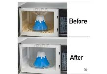 Volcano Erupt Microwave Cleaner – Explosive Cleaning Power!