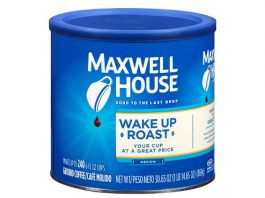 Maxwell House Wake Up Blend Mild Roast Ground Coffee (30.65 oz Tin)