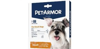 PetArmor for Dogs, Flea and Tick Treatment for Small Dogs (5-22 Pounds), Includes 3 Month Supply of Topical Flea Treatments
